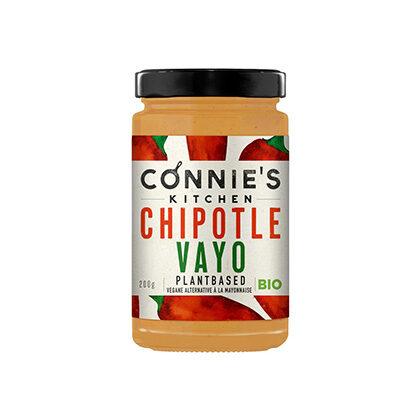 Connie's Kitchen Chipotle Vayo vegane Alternative zu Mayonnaise 200g