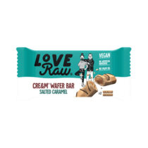 Love Raw Cre&m Filled Wafer Bar Salted Caramel 45g